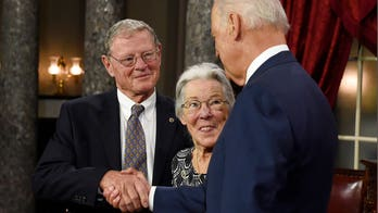 Jim Inhofe says wife is 'progressing nicely' after minor stroke