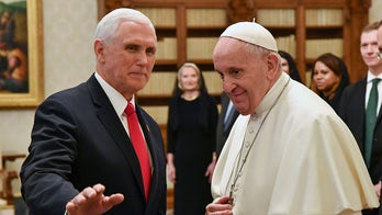 VP Mike Pence meets Pope Francis in private audience at Vatican