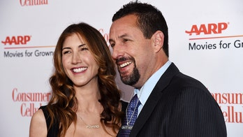 Adam Sandler reveals wife Jackie's advice for his onscreen kisses: 'Just get in there'