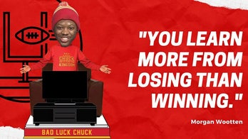 Chiefs superfan 'Bad Luck Chuck' getting bobblehead treatment