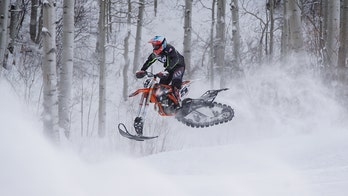 X Games Paralympian gets new cutting-edge prosthesis for Adaptive Snow BikeCross