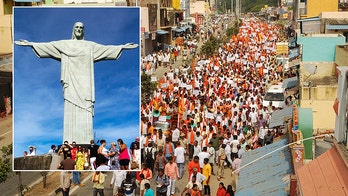 Hindu hardliners protest massive Jesus statue in India as persecution against Christians persists