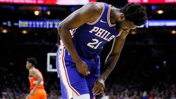 Embiid misses Philadelphia scrimmage with calf tightness