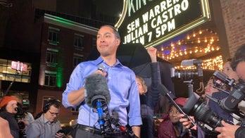 Former Democratic presidential candidate Julian Castro campaigns with Jon Ossoff in Georgia Senate runoff