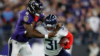 Titans players mock Ravens' 'Big Truss' phrase after playoff win