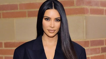 Kim Kardashian gets 'dressed up' in two-piece leather chaps but has 'nowhere to go'