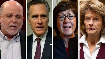 Mark Levin tweets ask waffling GOP senators why 'disgruntled' John Bolton should testify