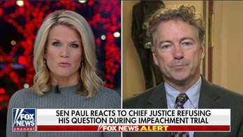 Rand Paul 'disappointed' Roberts didn't read question, denies identifying alleged whistleblower
