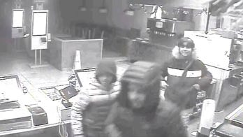 McDonald's cameras catch suspects stealing sodas, milkshakes and other sweets
