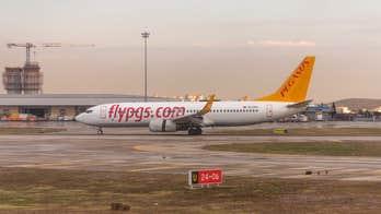 Pegasus Airlines flight skids off runway in Istanbul, temporarily shuts down airport