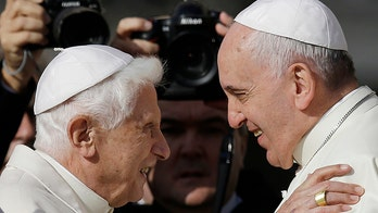 Pope Benedict XVI breaks silence with new book supporting priest celibacy