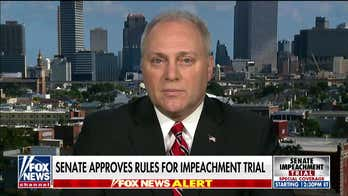 Steve Scalise says Pelosi broke House rules and 'rammed' through impeachment articles