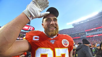Travis Kelce goes 'Beastie' mode after Chiefs win AFC Championship