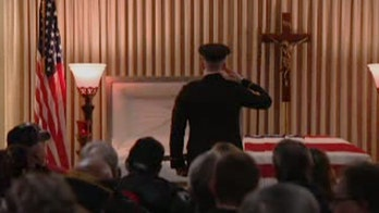 Hundreds attend Illinois funeral for veteran with no known family