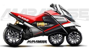 3-wheel Bike Blade is 4-passenger motorcycle