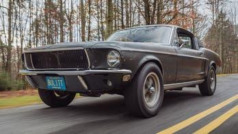 Steve McQueen's long-lost 'Bullitt' Ford Mustang sold at auction for $3.4 million