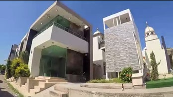 New video: Lavish graveyard of Mexican drug lords and hit men