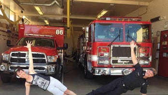 Colorado woman teaches yoga to police officers, firefighters to help with stress, trauma