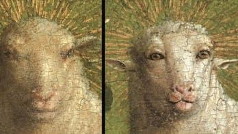 Ghent Altarpiece Lamb of God's 'alarmingly humanoid' face stuns art world