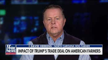 Pork farmer: China trade deal is 'great first step' to help farmers but high tariffs must come down