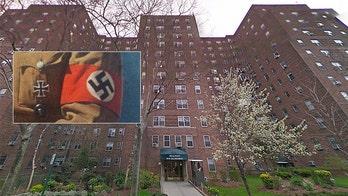 Swastikas, 'f--- Jews' graffiti found scrawled inside NYC apartment building amid spike in anti-Semitism