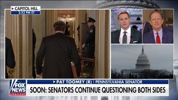 Sen. Pat Toomey: Impeachment trial becoming a 'partisan attempt to discredit' Trump in an election year