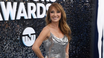Jane Seymour says she had 'no room for underwear' in silver SAG Awards gown