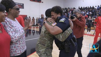 Army son surprises mom at work after deployment: 'I've been planning this for years'