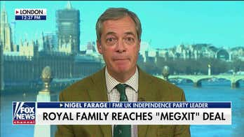 Nigel Farage on Prince Harry, Meghan Markle no longer using royal titles: Queen 'acted decisively'