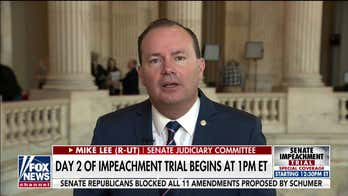 Mike Lee: Only Dems' House managers deserved to be called out by Justice Roberts