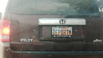 Utah lawmakers probing how 'DEPORTM' license plate was approved