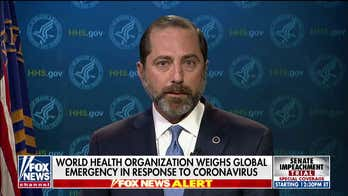 HHS Secretary Azar on coronavirus: 'We will take all ...?measures necessary to protect?the American public'