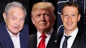 Facebook hits back at Soros claim of 'special relationship' between Trump, Zuckerberg