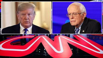 CNN blasted over 鈥榗lear bias against Bernie Sanders鈥� amid ongoing anyone-but-Trump agenda
