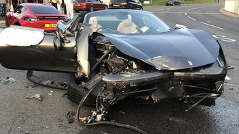 Court bans supercar dealer from driving after street racing wreck