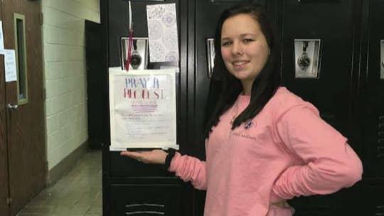 Alabama teen starts 'prayer locker' to help school: 'Something was leading me to do it'