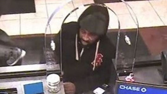 Accused bank robber sprung under New York's new bail reform law sent to jail