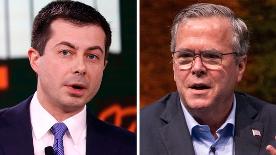 Buttigieg's 'please clap' moment? Dem urges Iowa audience to get excited after awkward silence