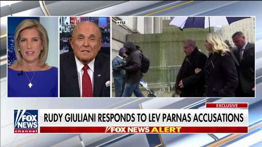 Giuliani 'heartbroken' by Lev Parnas' 'stupid lies,' says he's trying to avoid jail