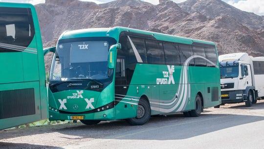 American traveler in Tel Aviv gets stuck in cargo hold of moving bus, shares plight in Instagram story