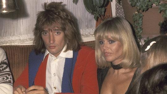 Former Bond girl Britt Ekland claims ex-boyfriend Rod Stewart 'would wear my knickers'