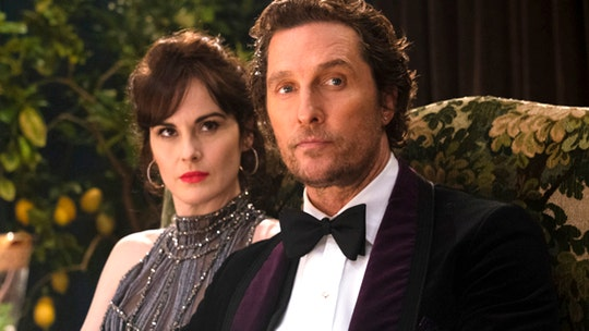 Matthew McConaughey likes playing a villain in 'The Gentlemen,' reveals what he kept from movie set