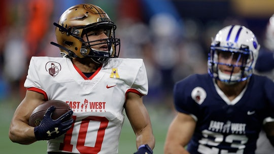 LeMay's 2 TDs lead East over West 31-27 in Shrine Bowl