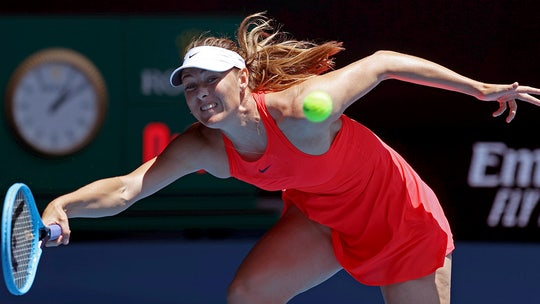 Sharapova can't say what's next after Australian Open loss