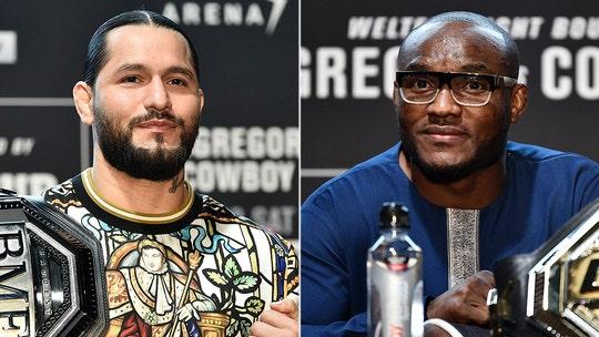UFC stars Jorge Masvidal, Kamaru Usman nearly come to blows at Super Bowl LIV radio row
