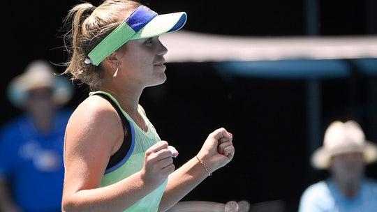 Sofia Kenin is first through to Australian Open semifinals