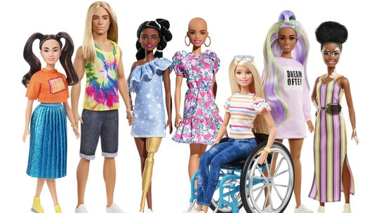 Mattel releases Barbie dolls with vitiligo, no hair to 'better reflect the world'