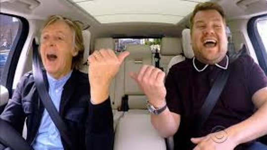 Fans shocked that James Corden doesn't always drive on 'Carpool Karaoke'