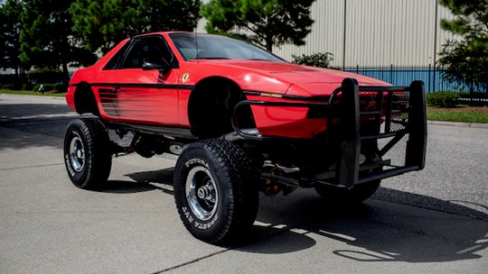 This Pontiac Fiero-Chevy Blazer mashup is the most bizarre SUV you'll see today