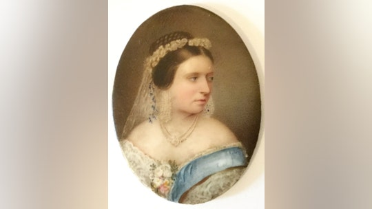 Queen Victoria's dress, boots, stockings and underwear discovered in cabinet